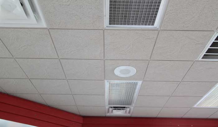 Acoustic Ceiling Installation in Houston