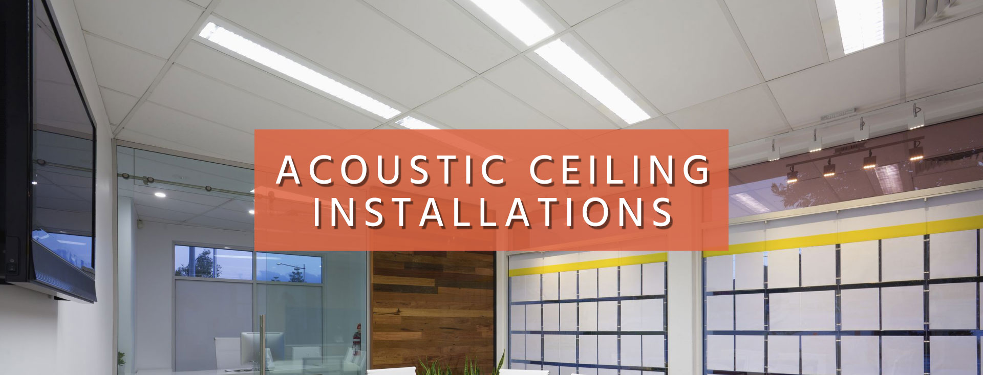 Houston Acoustic Ceiling Installation